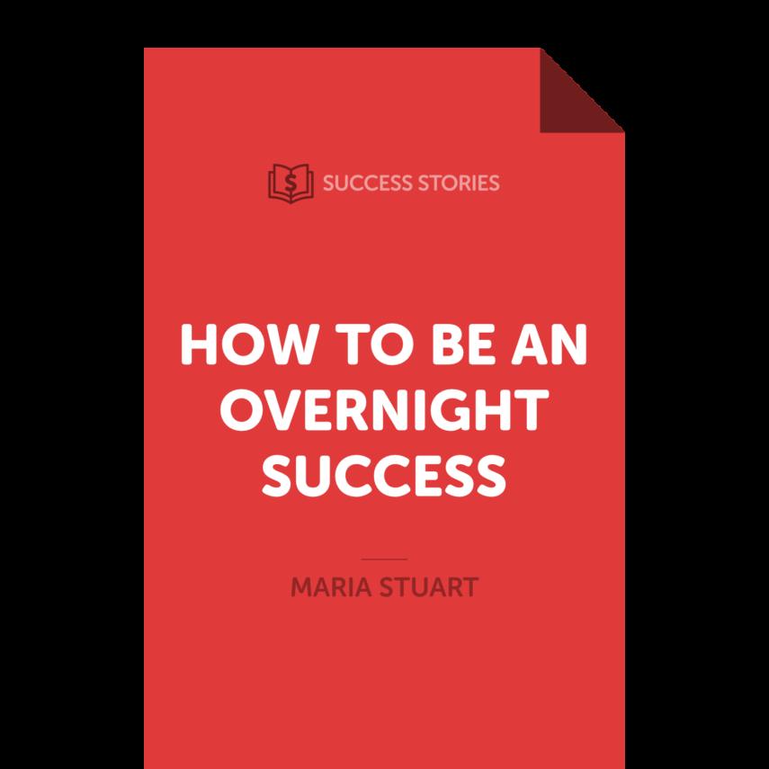 "<span itemprop=""name"">How to Be an Overnight Success</span>"