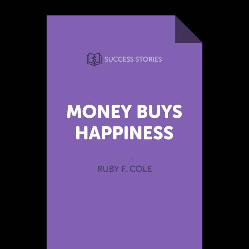 "<span itemprop=""name"">Money Buys Happiness</span>"